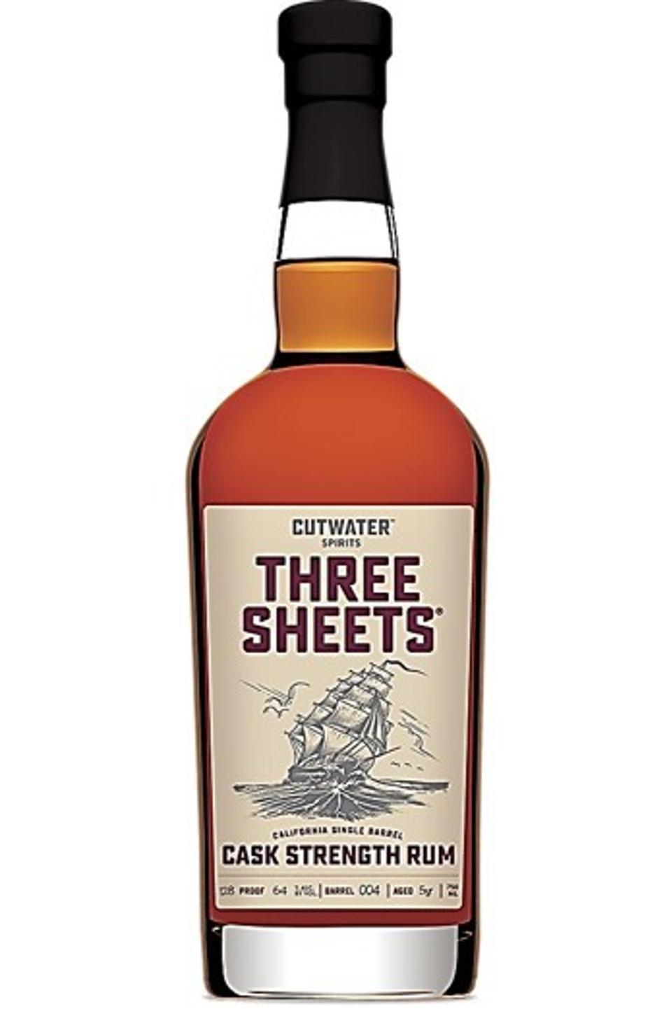 Cutwater Spirits, Three Sheets, Cask Strength Rum