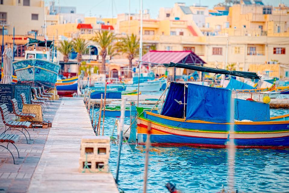 Marsaxlokk, a traditional fishing village in Malta–open to everyone on 1 June