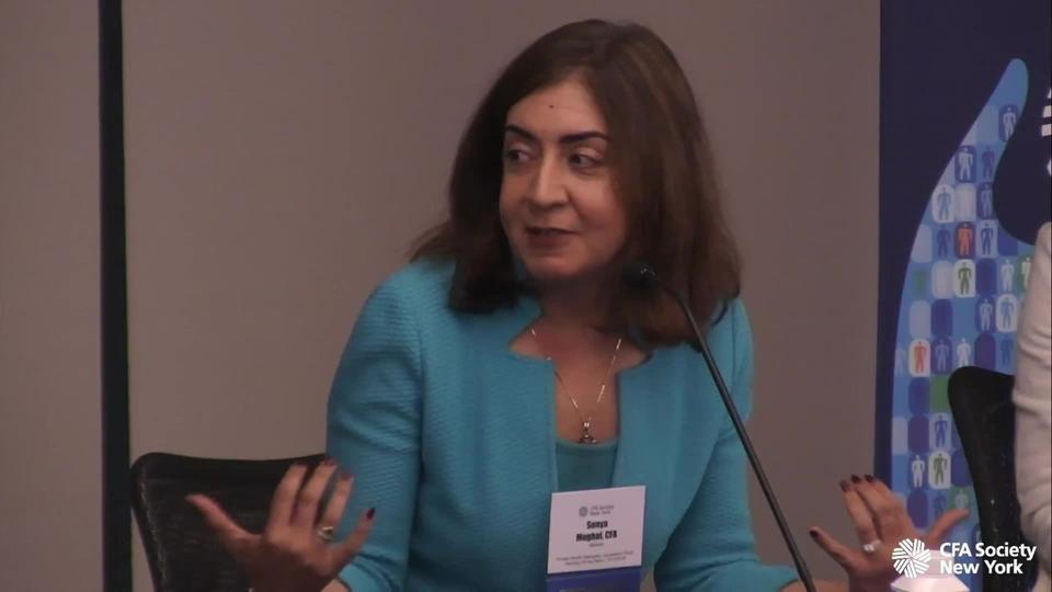 Sonya Mughal, CEO of Bailard (a wealth management firm with $5B AUM).