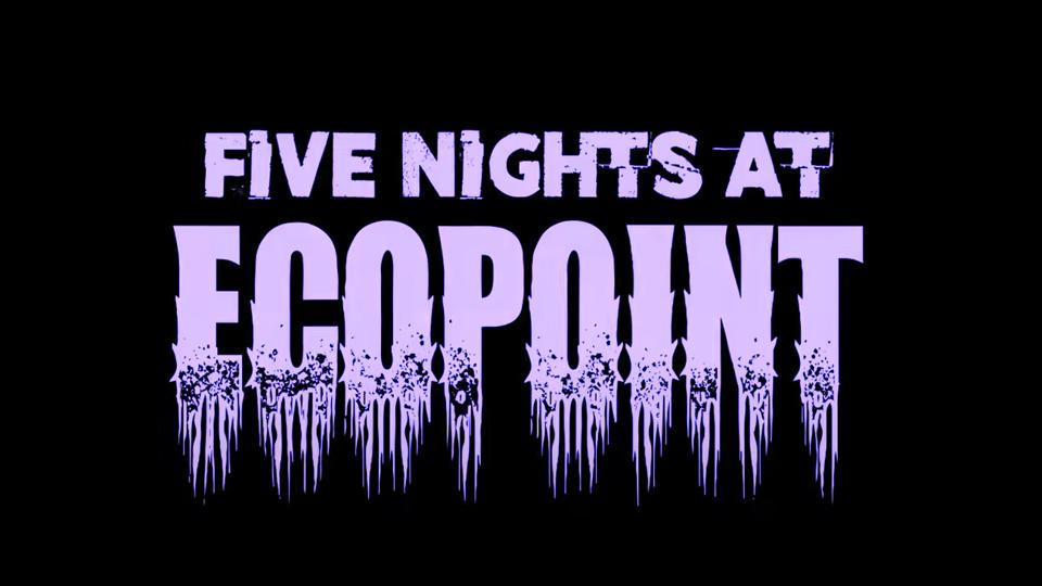 A logo for Overwatch Workshop mode Five Nights at Ecopoint.