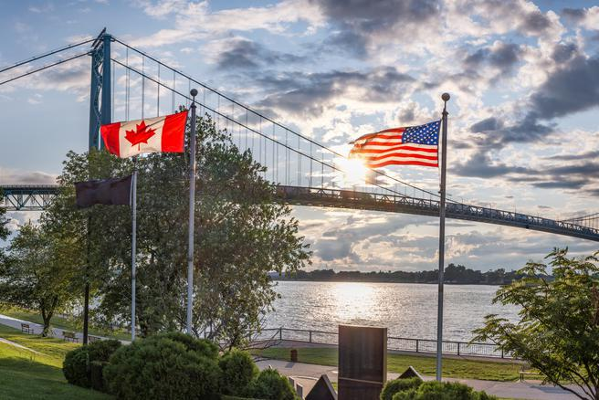 U.S. Canada border reopening