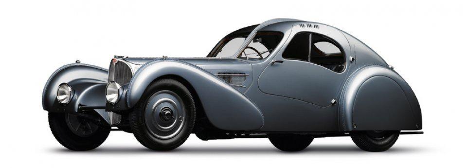1936 Bugatti Type 57SC Atlantic: