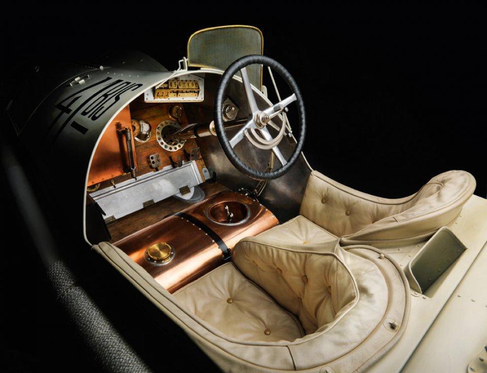 1914 Mercedes Grand Prix racing car