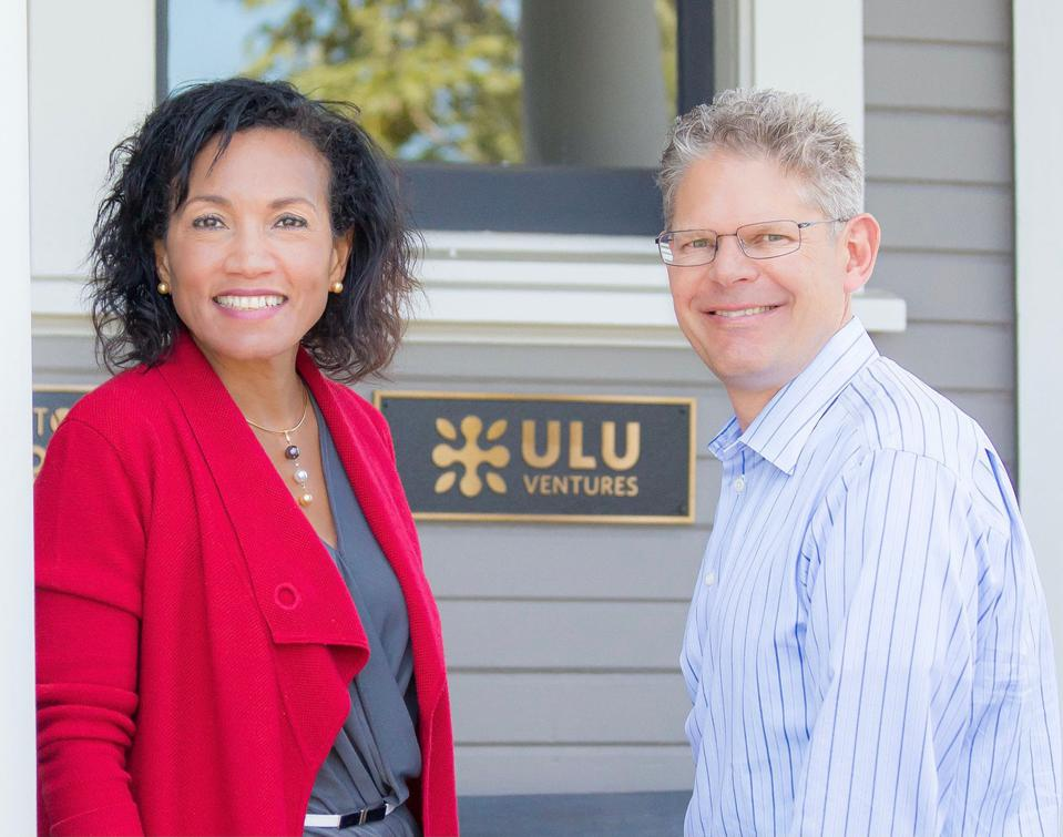Miriam Rivera (left) and Clint Korver (right) are the founding duo behind Ulu Ventures.