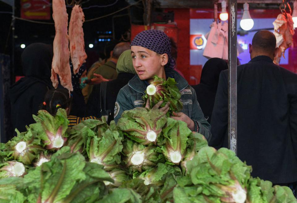 Food prices in Syria