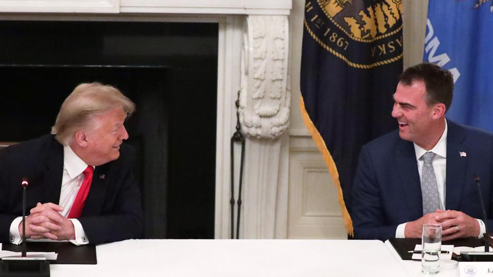 President Trump Holds Roundtable With Governors On Reopening Small Businesses