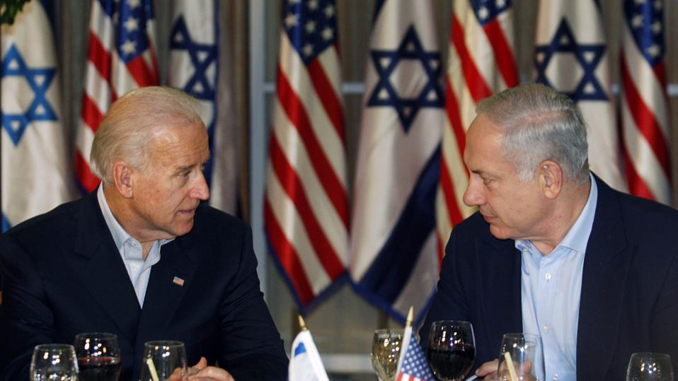 US Vice President Joe Biden Visits Israel