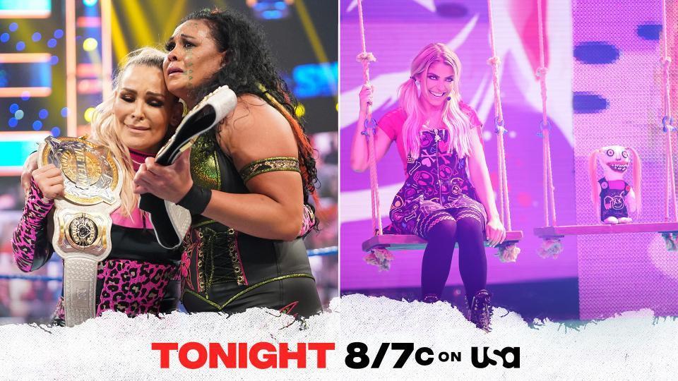 Tamina and Natalya to appear on Alexa Bliss' Playground