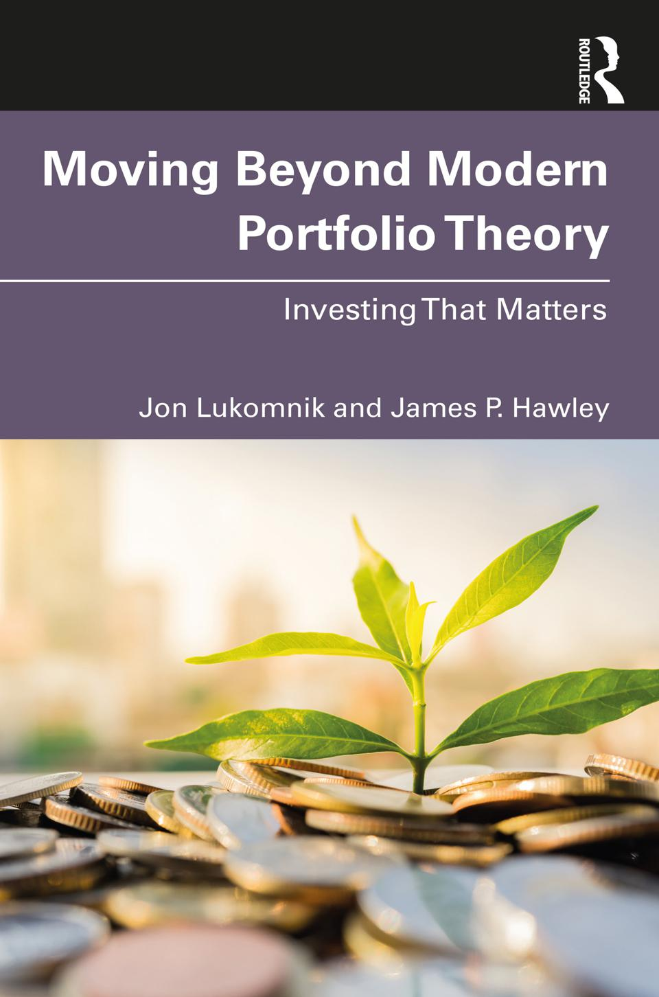 Book Cover to ″Moving Beyond Modern Portfolio Theory″