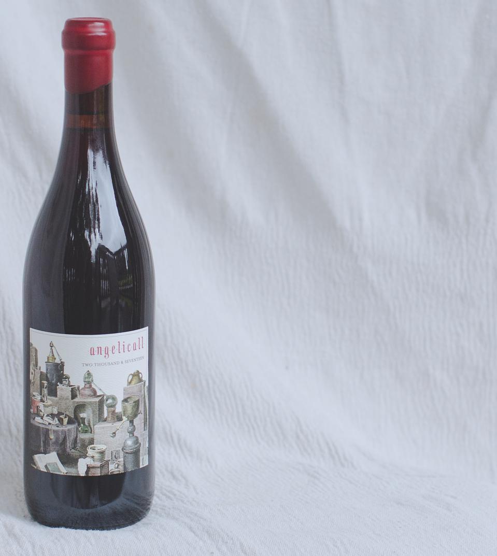 Bottle of Antica Terra Angelicall Rosé