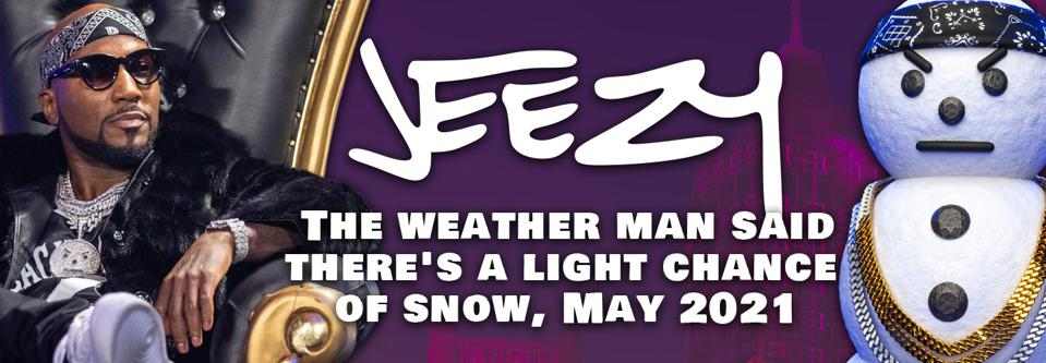Jeezy's snowman iconography appears in the recording artist's NFTs.