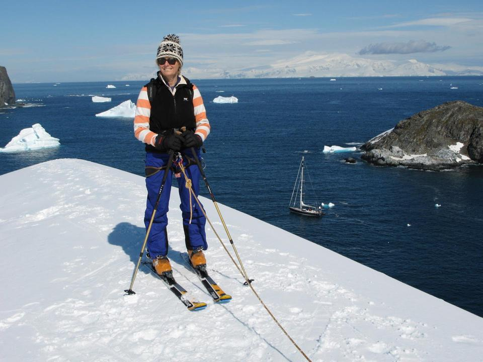 Mariacristina Rapisardi sails her Royal Huisman yacht Billy Budd to some of the most remote places on Earth.