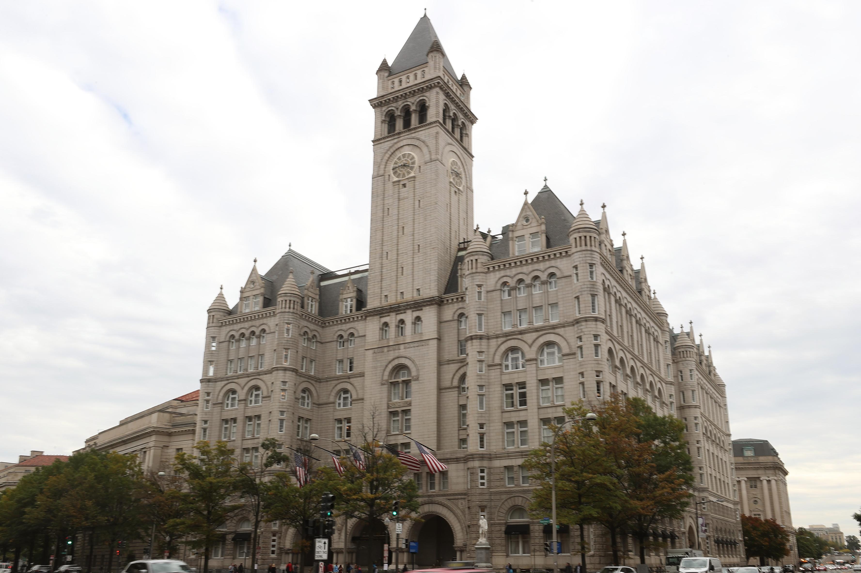 Trump Organization Considering Selling Its D.C. Hotel