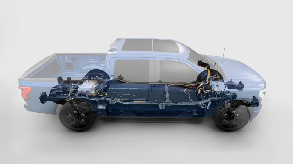 2023 Ford F-150 Lightning electric pickup
