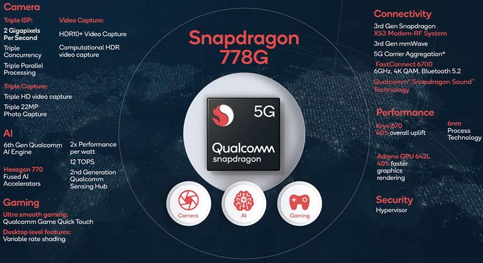 Snapdragon 778G 5G Features And Performance