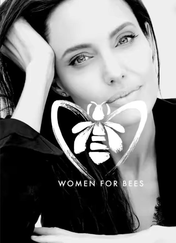 Angelina Jolie Women for Bees Guerlain