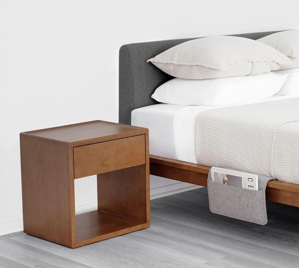 Thuma bed frame and night stand
