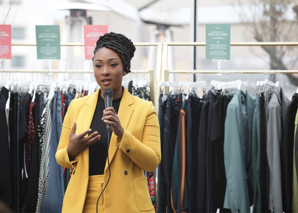Shakaila Forbes-Bell, founder of Fashion Is Psychology