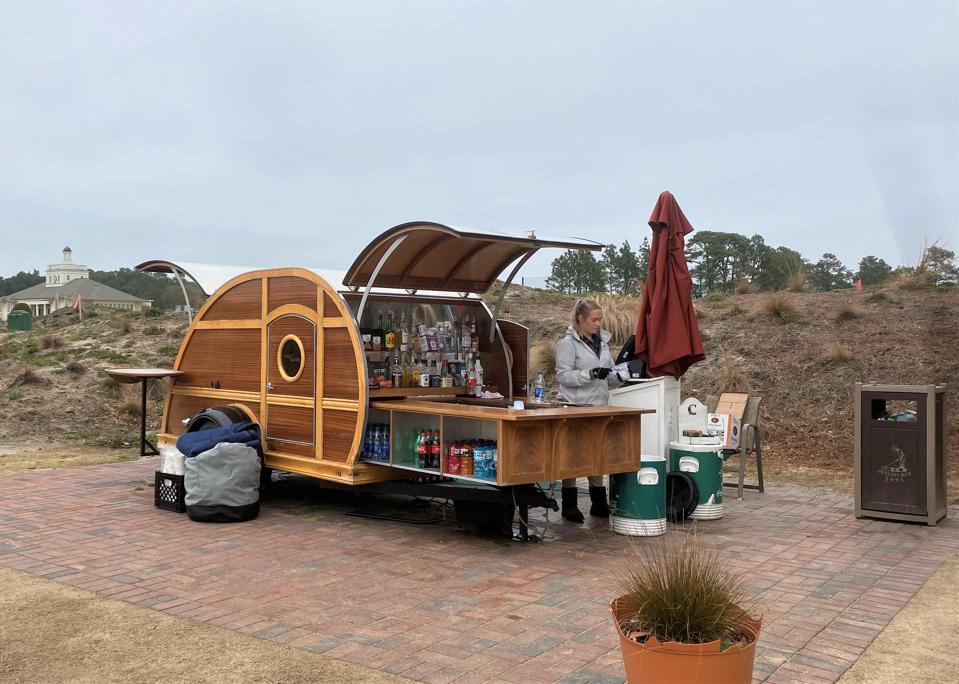 The Pinecone drink trailer
