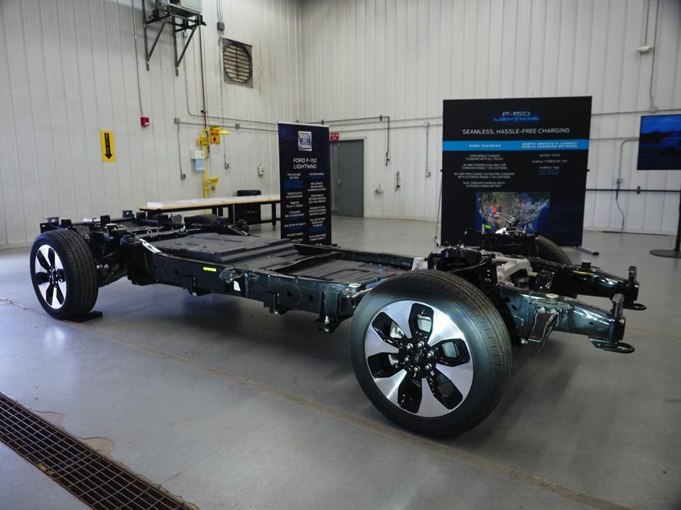 Ford F-150 Lightning EV Electric Truck platform.