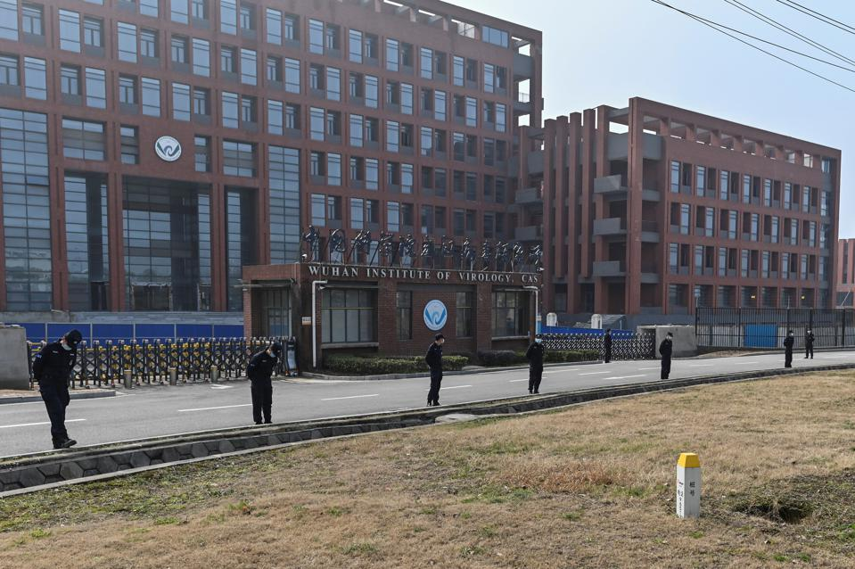 The Wuhan Institute of Virology, which studies human-to-human transmissible diseases.