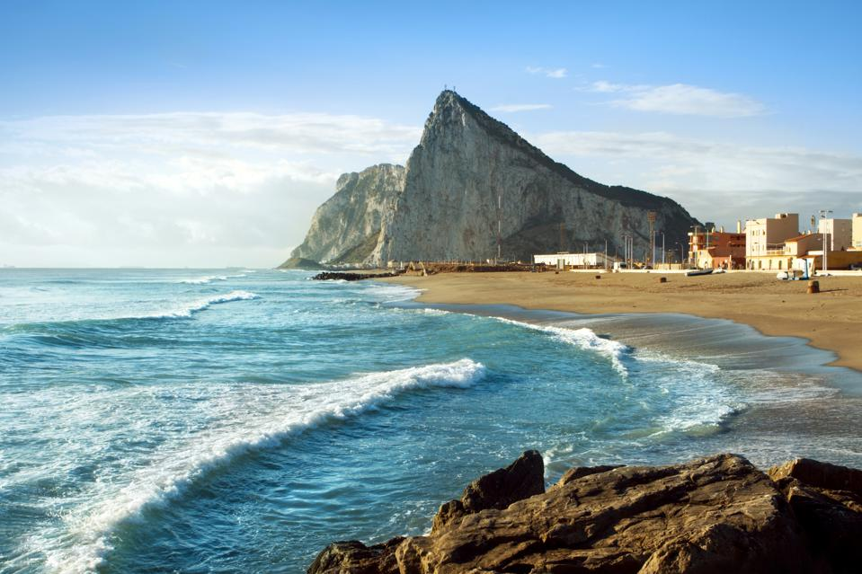 Gibraltar and the Sea