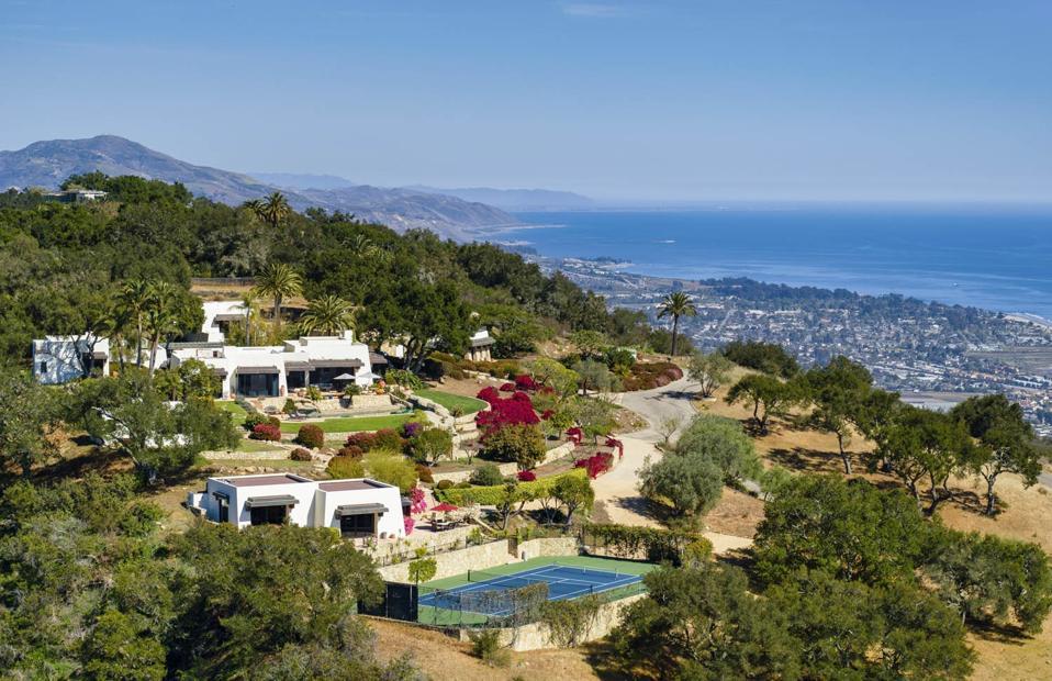 $26.5 million hilltop modern adobe compound 560 Toro Canyon Park Road Carpinteria, CA