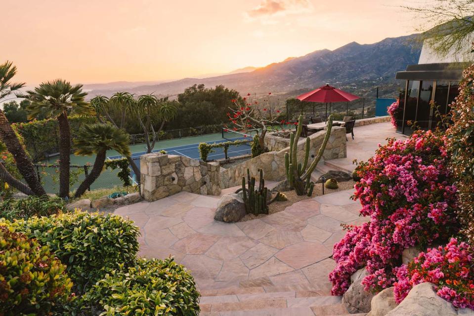 ocean views from hilltop haven at 560 Toro Canyon Park Road Carpinteria, CA