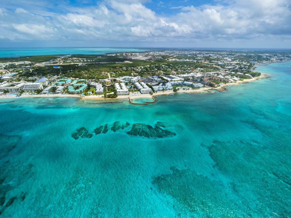 Photo of the Caribbean, Cayman Islands, George Town, Luxury resorts and Seven Mile Beach