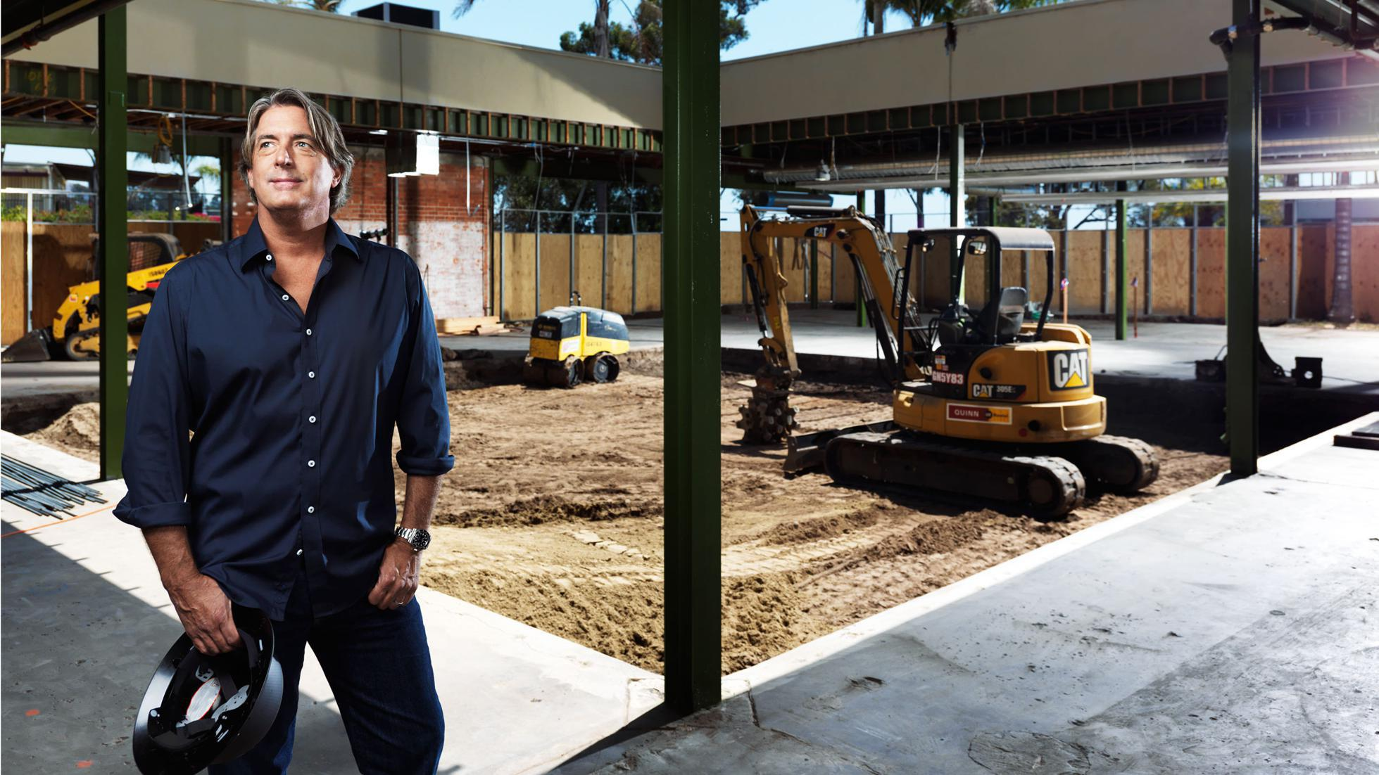 CEO Tooey Courtemanche photographed at the expansion of Procore's headquarters in 2018.