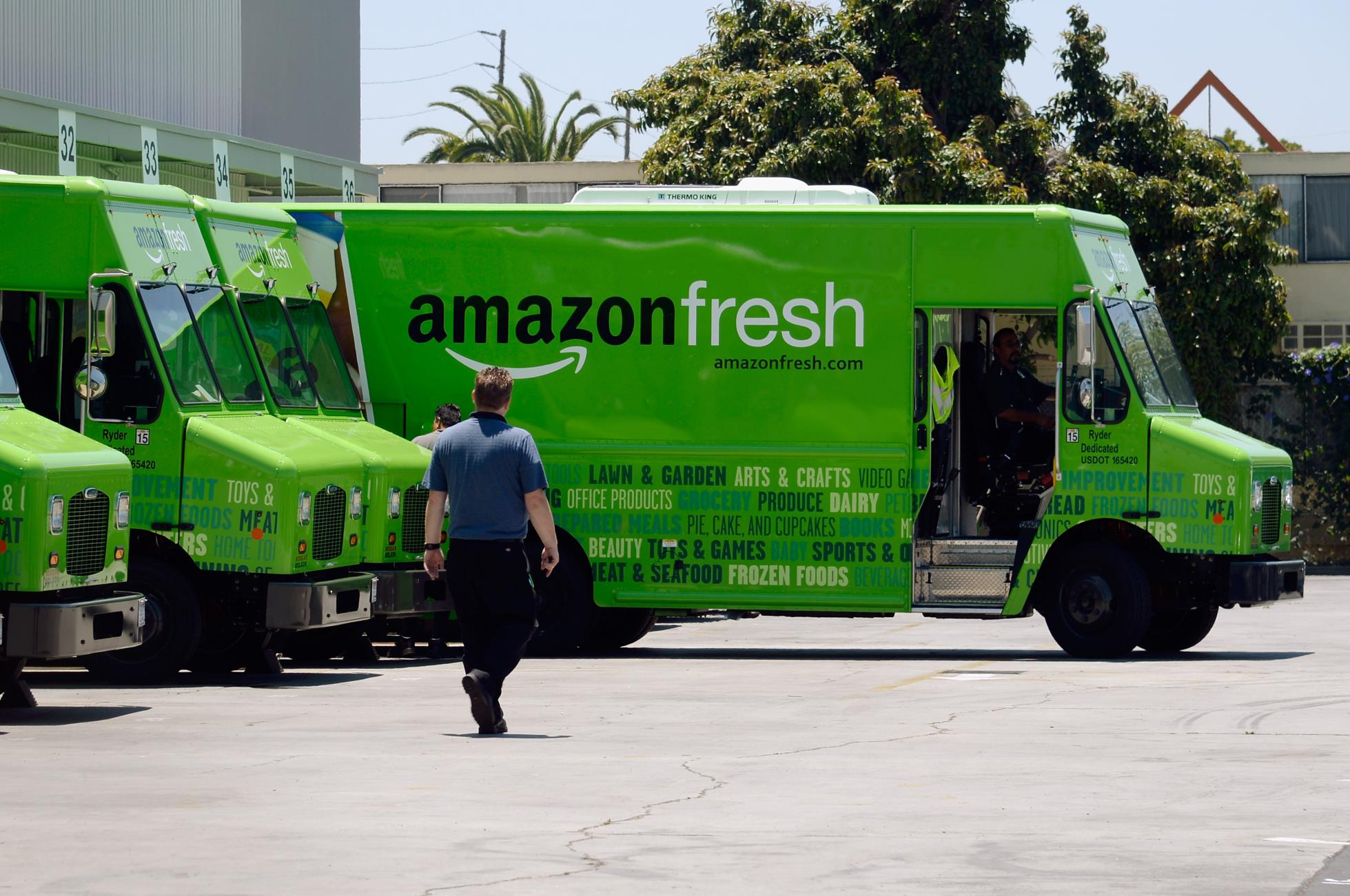 Amazon Expands Grocery Delivery Service To Los Angeles Area