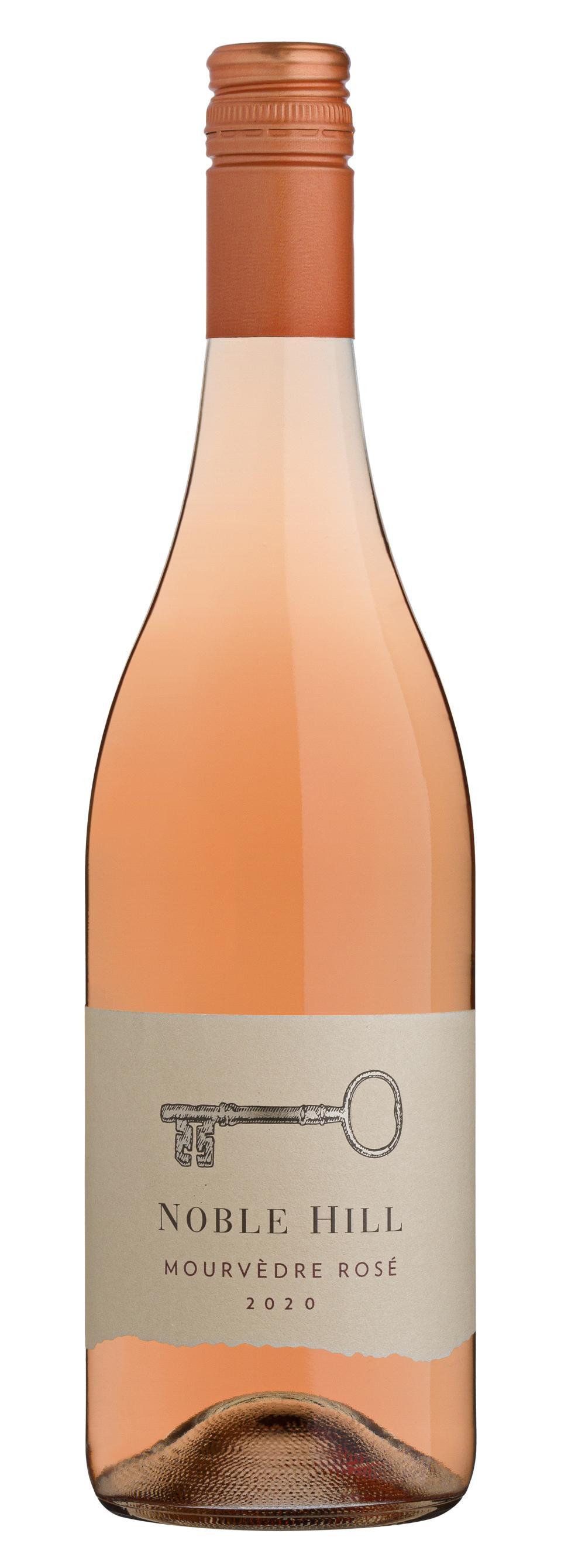 Bottle of Noble Hill Mourvedre Rosé 2020