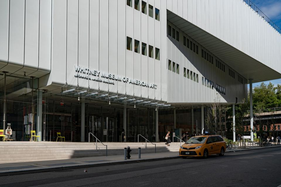 Whitney Museum Reopens To Visitors As NYC Covid Numbers Remain Low