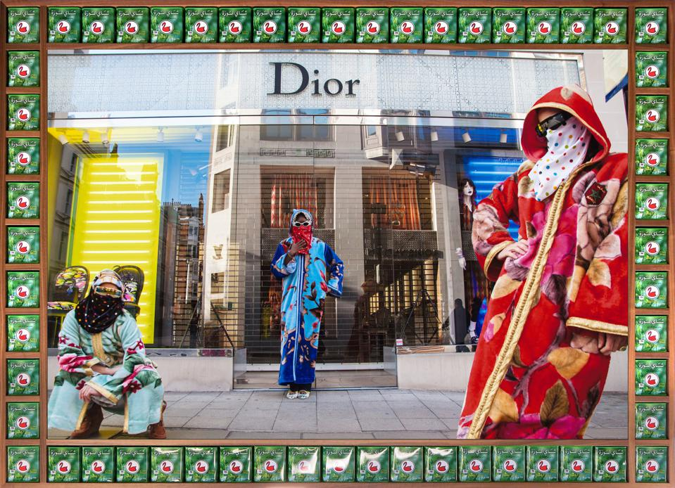 'Dior,' ″Vogue: The Arab Issue″ series, 2012_1433 © Hassan Hajjaj.