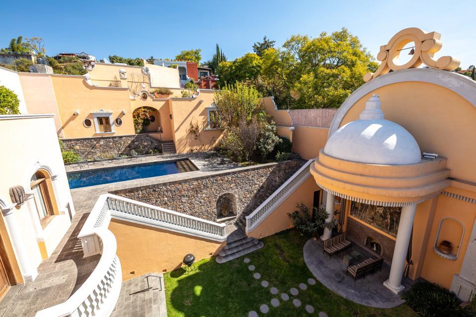 casa barranca in san miguel de allende swimming pool outdoor pavilion