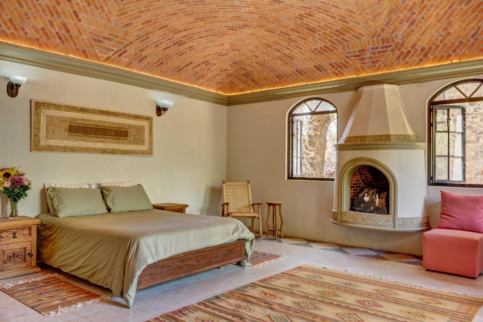 bedroom inside casa enclave san miguel de allende