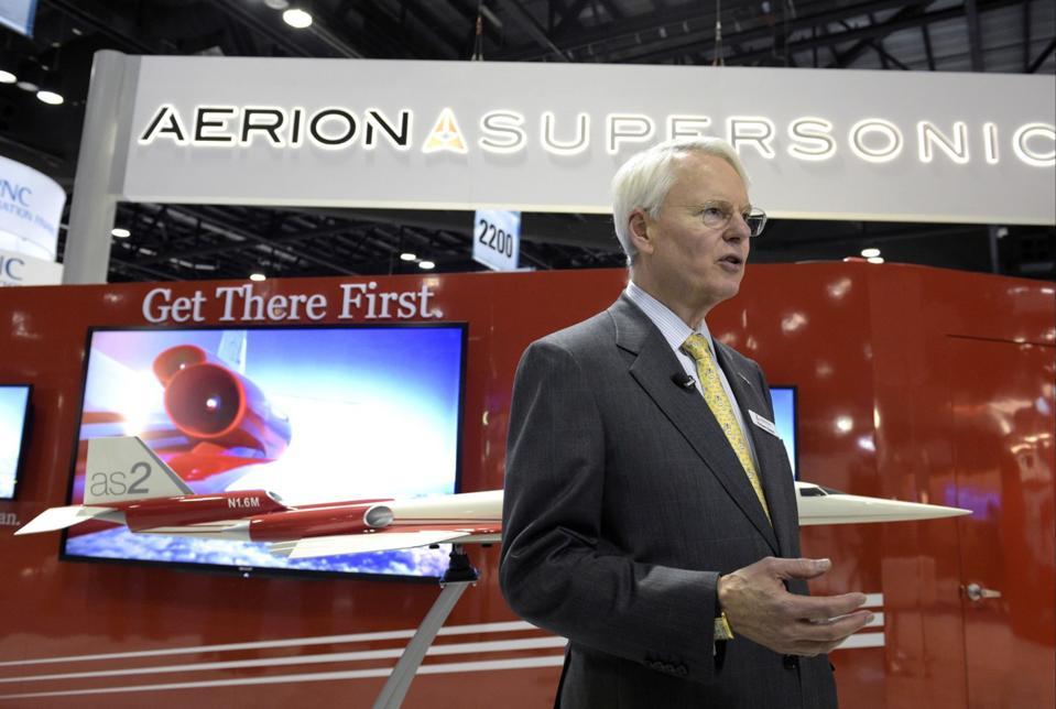 Texas Billionaire Robert Bass News Conference At NBAA Convention