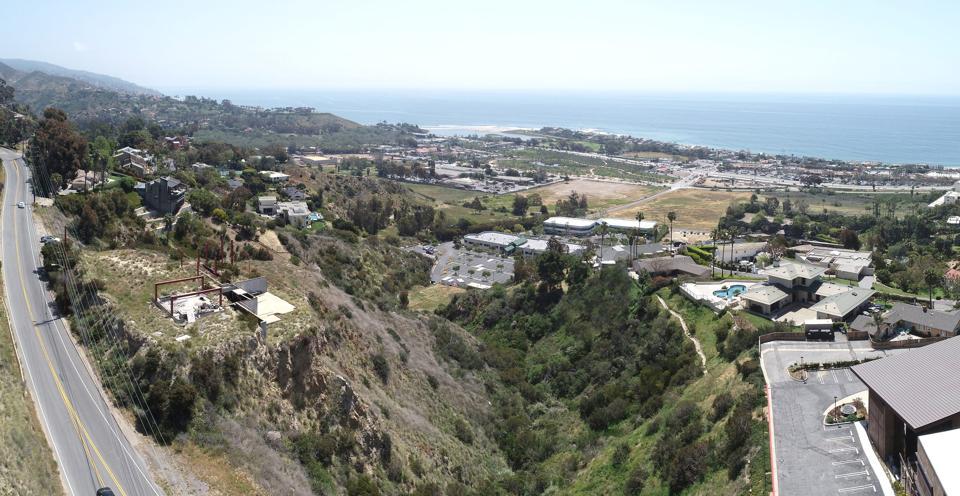 lot and ocean view 3338 Malibu Canyon Road Malibu, CA