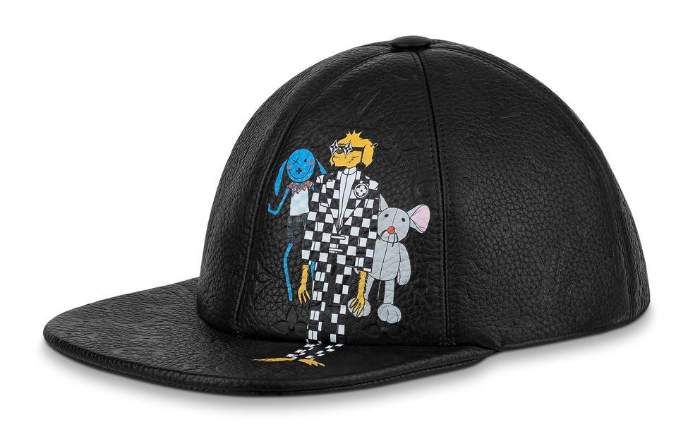 LV Friends Cap in Black
