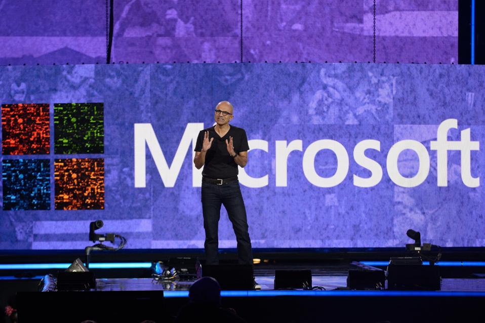 Microsoft CEO Satya Nadella plans a hybrid work model