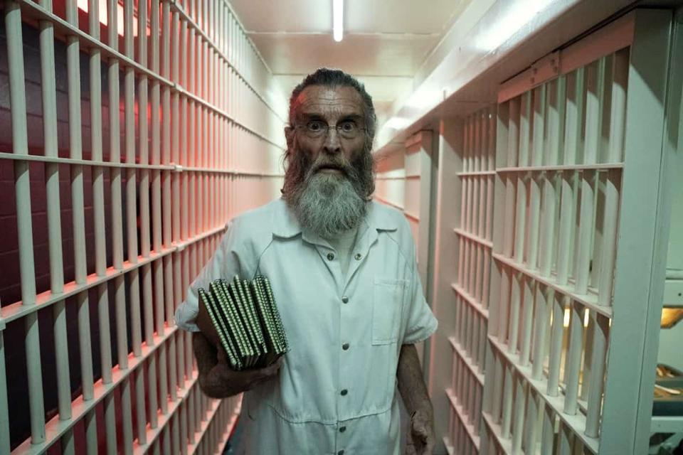 Teddy in prison in Fear The Walking Dead