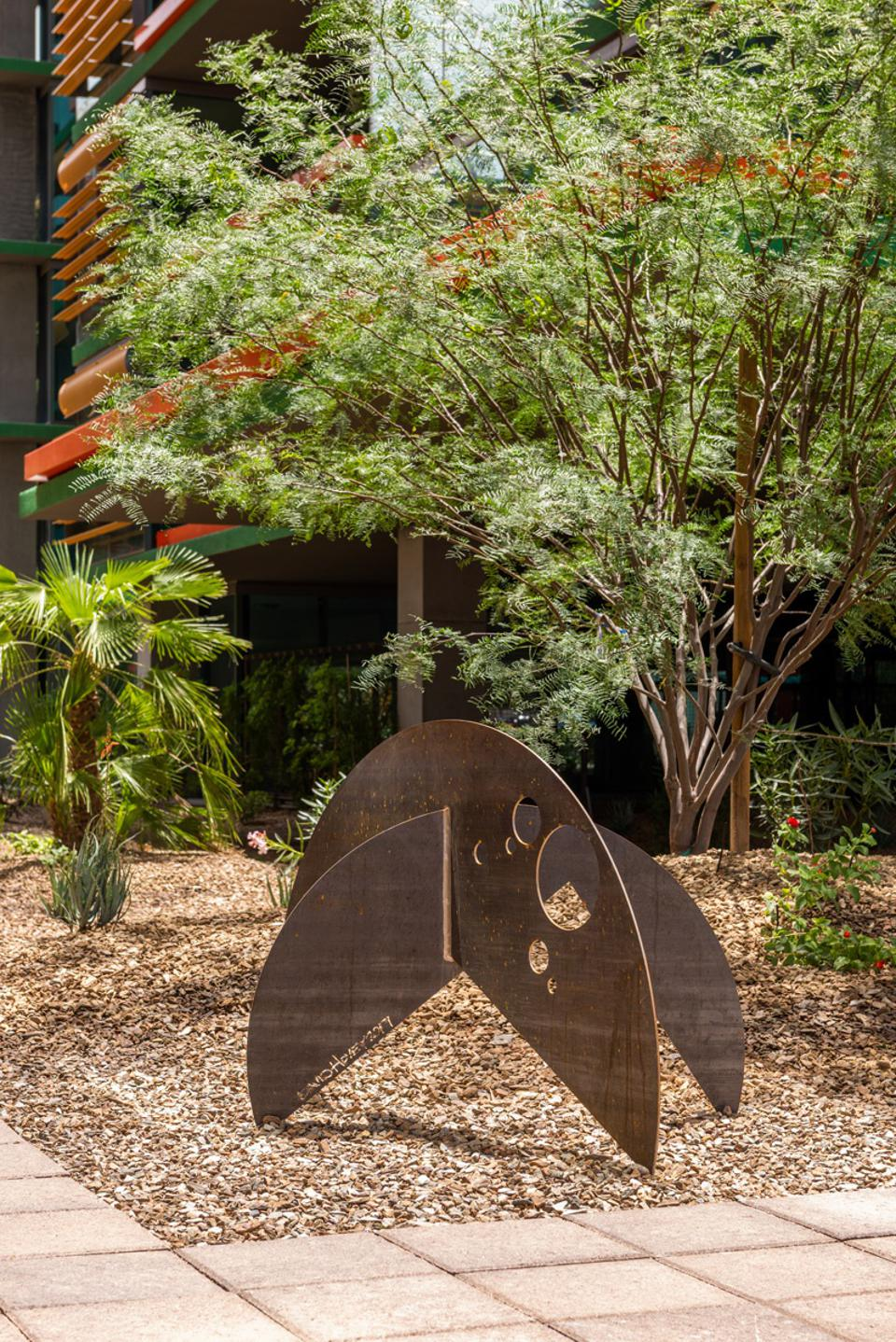 Public art will become an important part of reimagined urban green spaces.