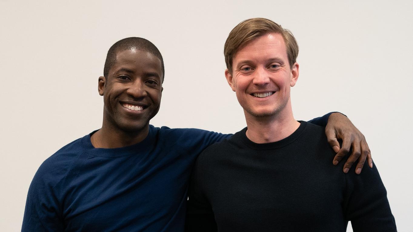 Solar energy Aurora Cofounders Samuel Adeyemo and Christopher Hooper.