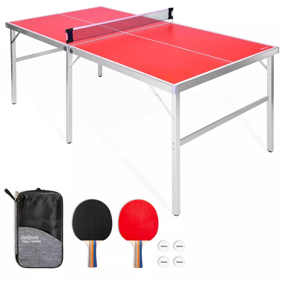 Father's Day Gift Ideas: GoSports Mid Size Indoor/Outdoor Portable Ping Pong Game Set