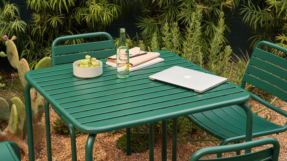 Memorial day patio furniture sales: Floyd Small Square Outdoor Set