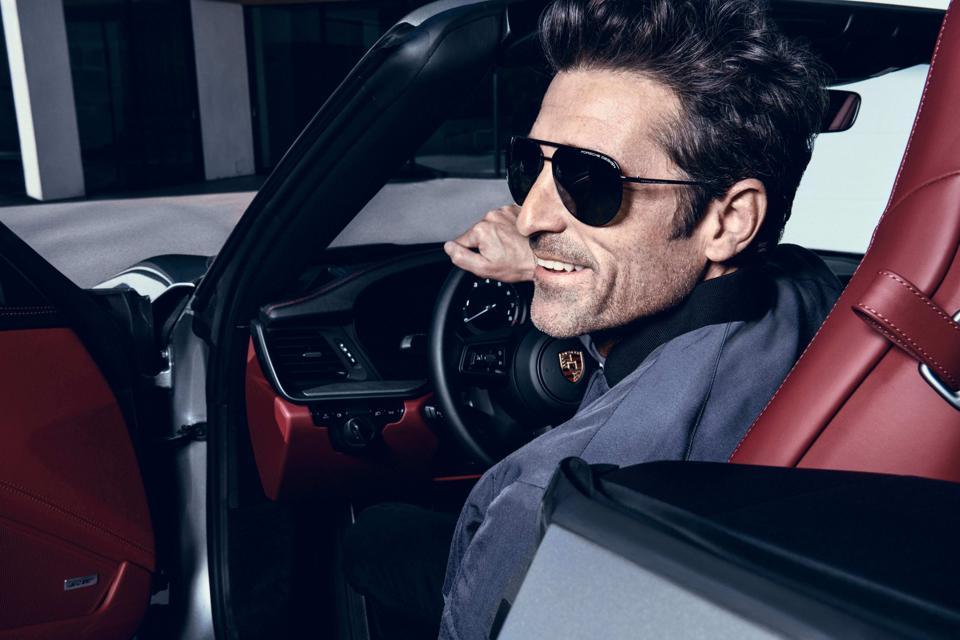 Porsche Design Eyewear Ambassador Patrick Dempsey