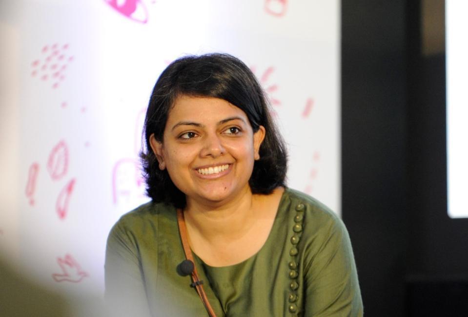 A photo of Suchetha Baht, the CEO of Dream a Dream, a 2021 WISE Award finalist.