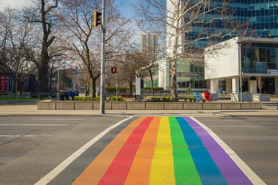 Hamilton's Rainbow Crosswalk
