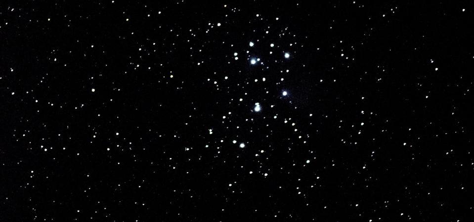 La masa de la colmena en la constelación de Cáncer.