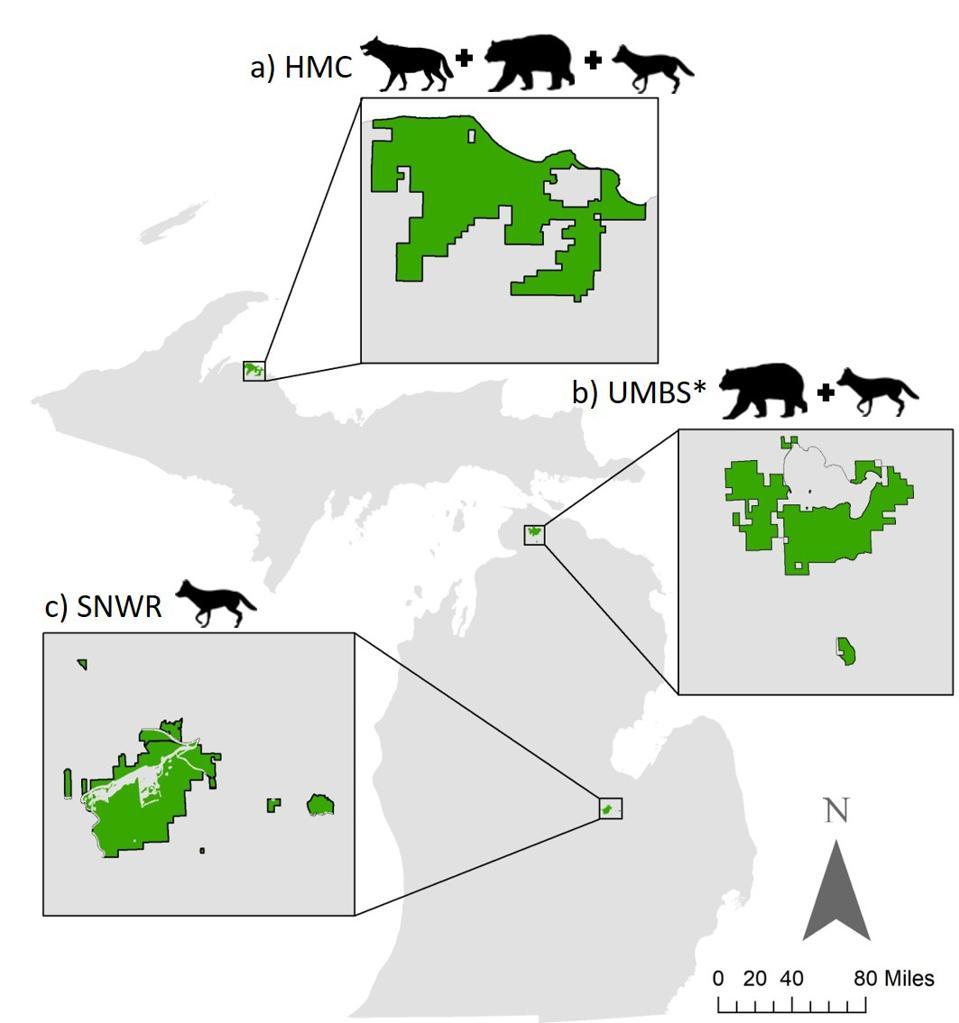 map university of michigan wildlife study citizen science identification